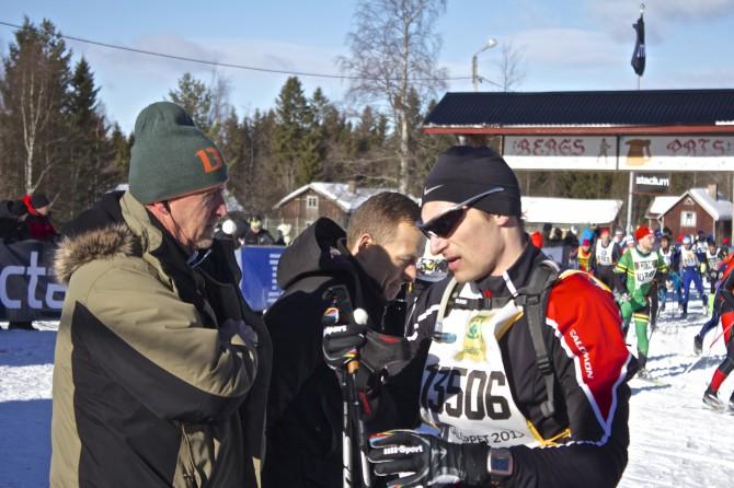 Kronprins Frederik av Danmark Vasaloppet 2013