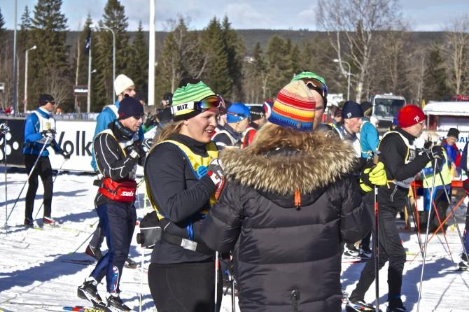 Anja Pärson Vasaloppet 2013