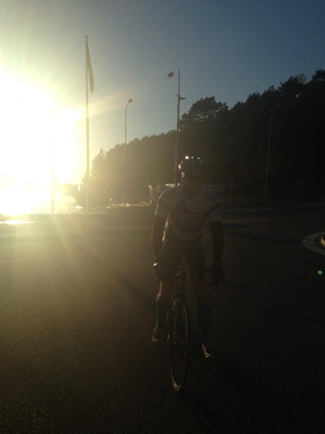 Cykling på Värmdö