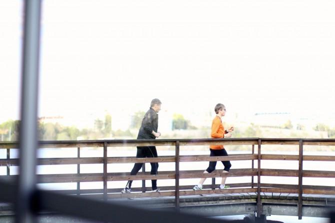 Bröllop löpning