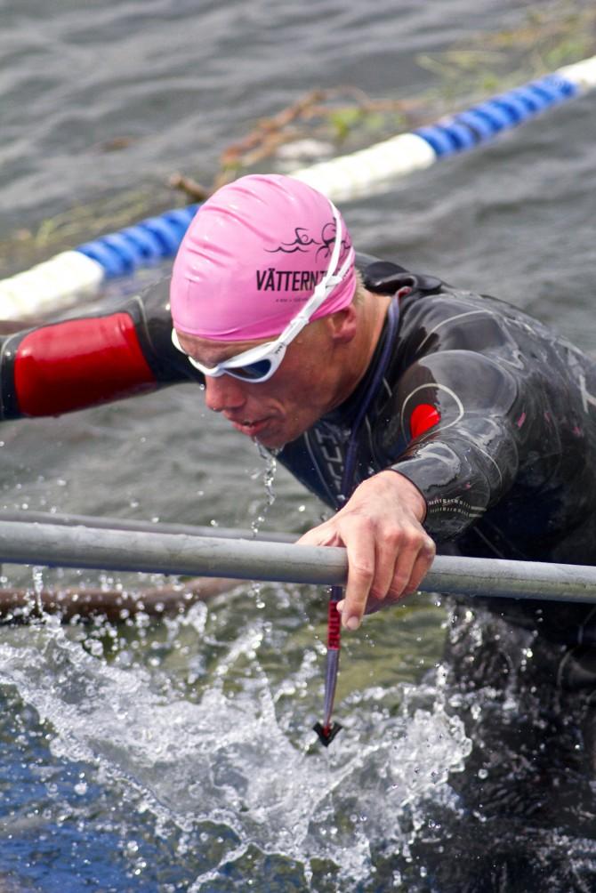 Karl-Johan Danielsson/Lactat3 VÄTTERNTRIATHLON 2013