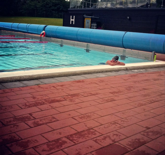 Sprint- teknikpass simning