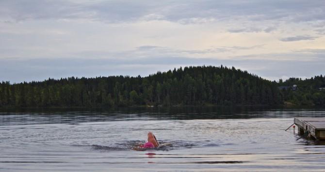 Simning i öppet vatten