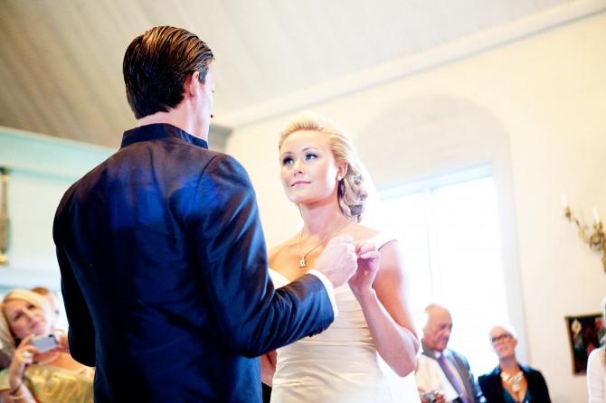 Bröllop i Ingarö kyrka