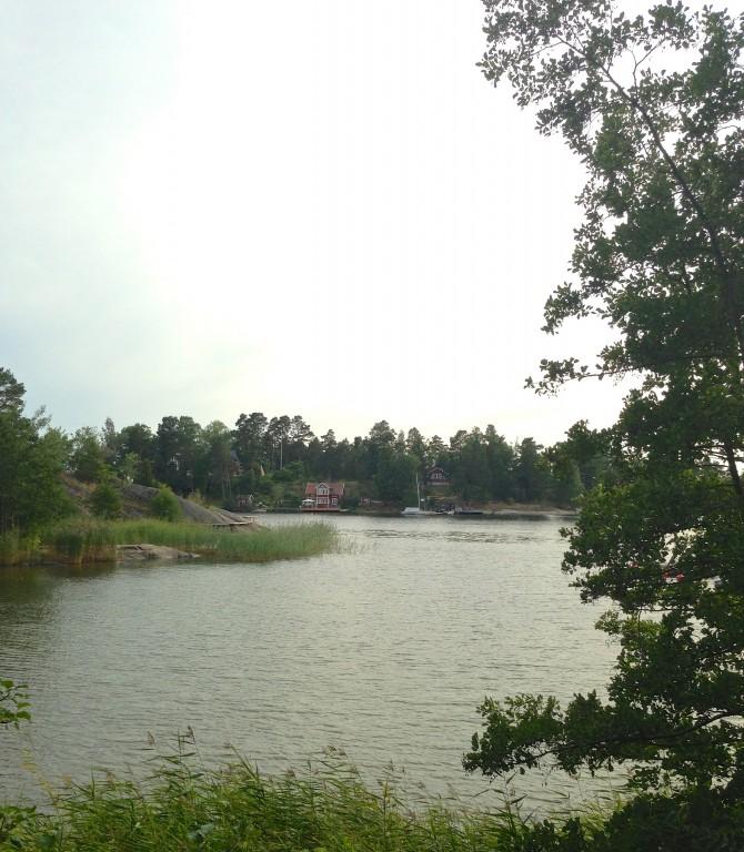 Swimrun på Värmdö