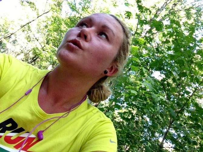 Löpning i Liljansskogen