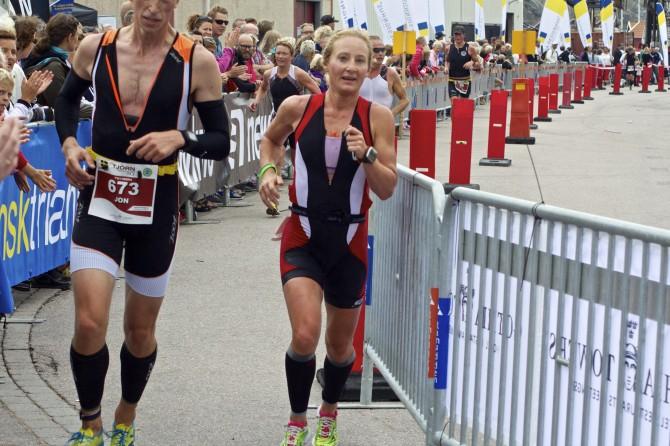 Camilla Lindholm Tenson Tjön Triathlon
