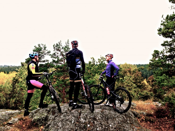 Mountainbikecykling
