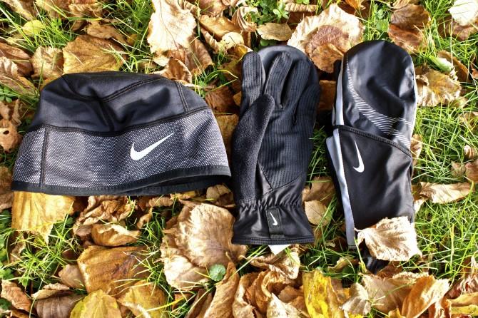 Löparvantar och löparmössa från Nike