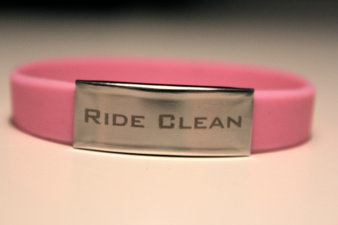 ride clean armband