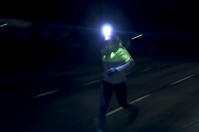 running i Dalsland