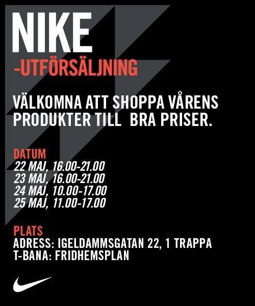 utförsäljning Nike