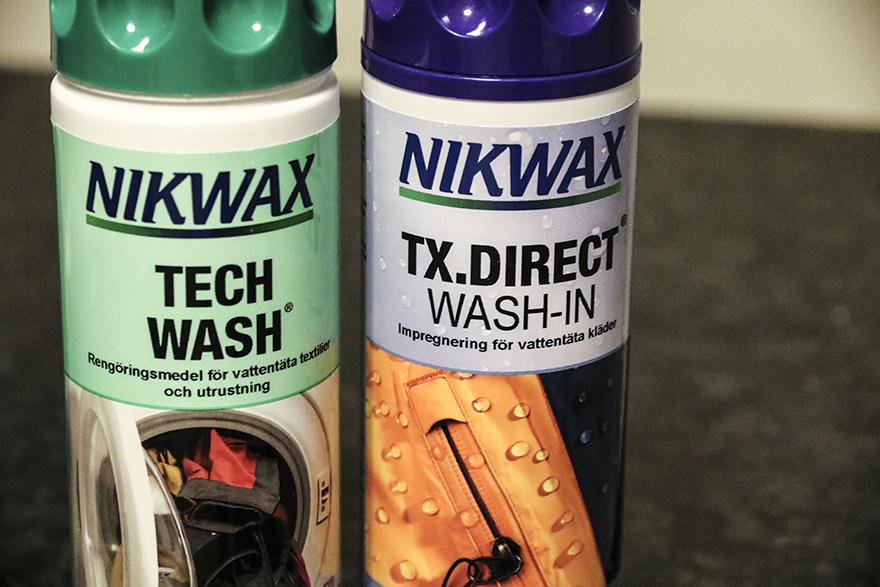 Nikwax-tvätta skidkläder