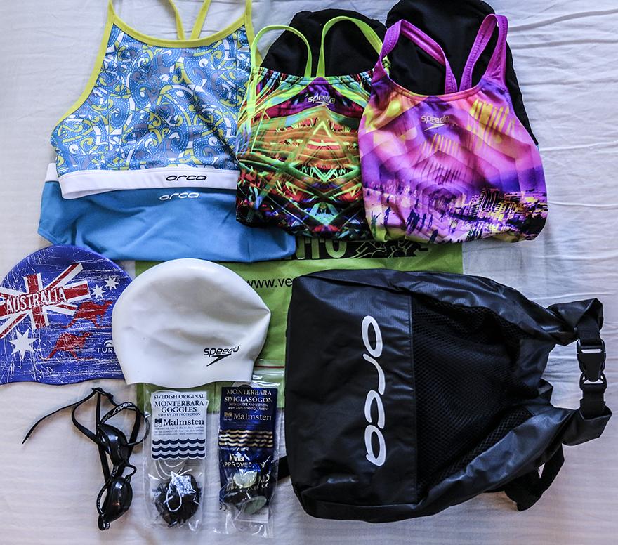 packa för triathlonläger